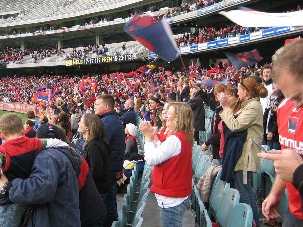 Melbourne's Demons still within