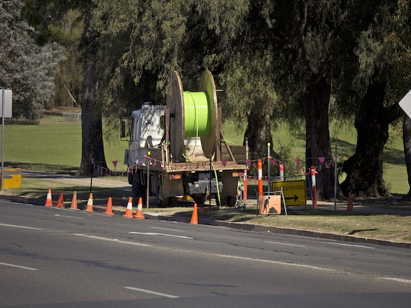 As the NBN is being rolled out across the country, Adria De..