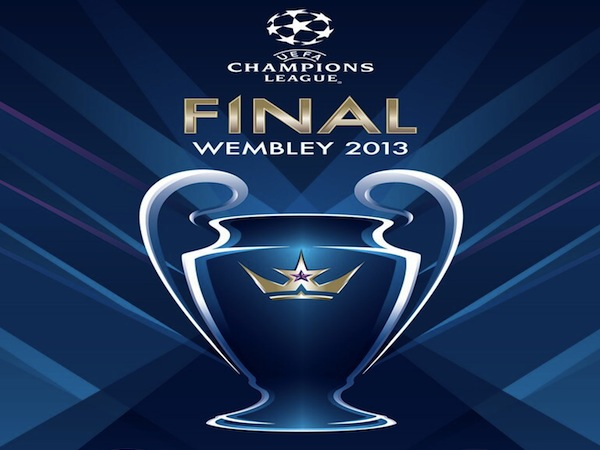 Ahead of the 2012/13 Champions League Final between German..