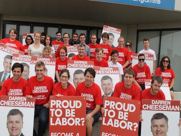 Labor's polling woes haven't phased Member for Corangamite..