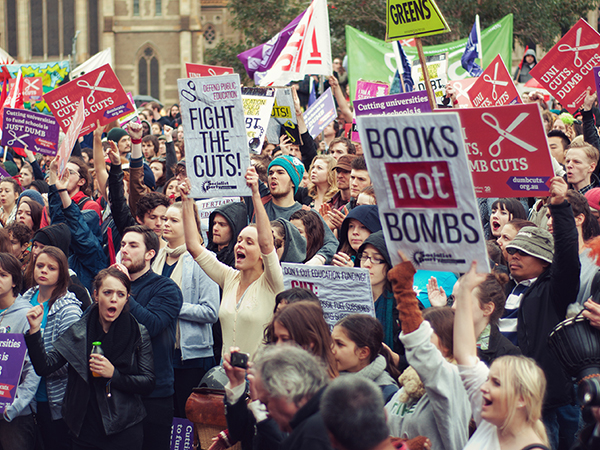 No ifs, no buts, no education cuts. Australian students are..