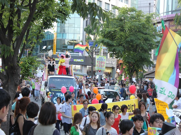 For a country thought to be conservative, South Korea is..