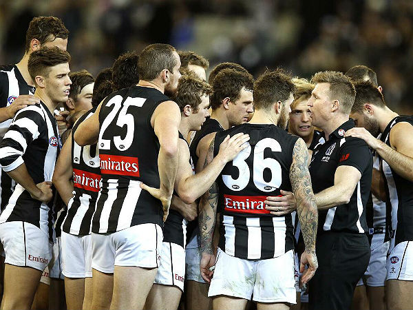 Collingwood's commanding win, and the continuing Kennett..