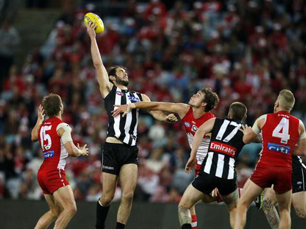 A resurgent Collingwood and an outstanding performance by..