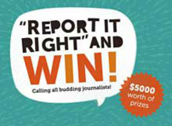 Report it Right and get published in Leader newspaper