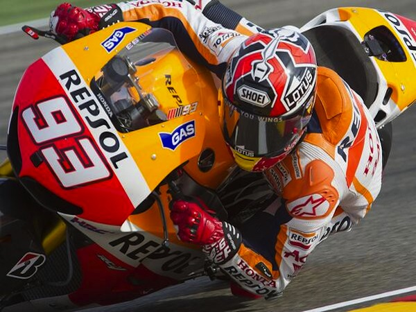 20-year old MotoGP sensation Marc Marquez, aka the 'Spanish..