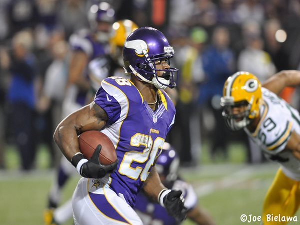 Adrian Peterson's decision to play just two days after his..