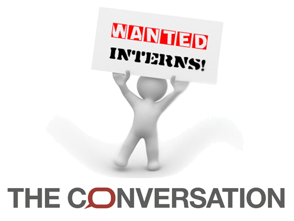 Internship opportunity at The Conversation