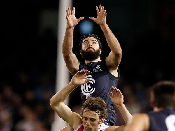 Carlton's vice captain Kade Simpson has always played his..