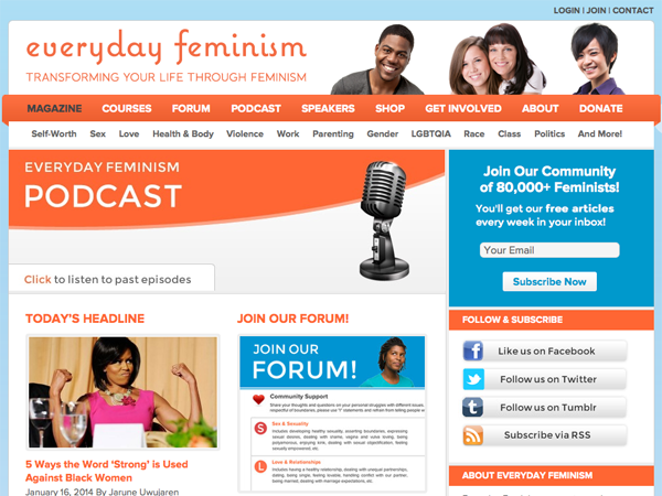 Everyday Feminism is looking for contributors