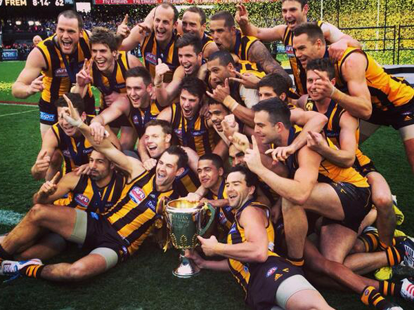 After winning last year's AFL premiership, Robert Beaton..