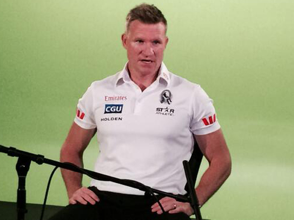 Nathan Buckley talks to upstart's Jake Keating about..