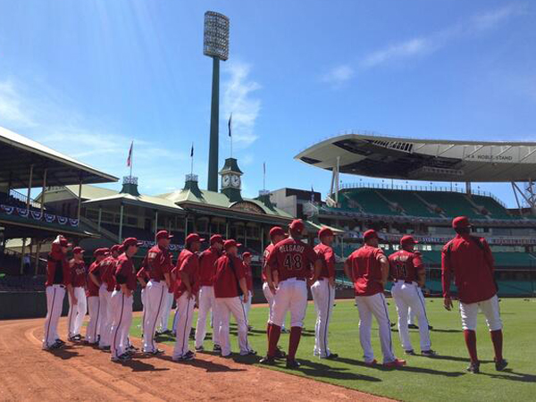Australia may only be hosting a two-game series, but Jarrah..