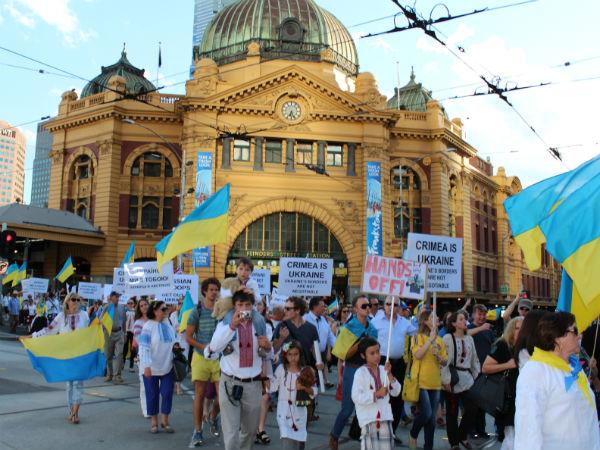 Ukrainian conflict hits home