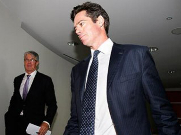 Gillon McLachlan is the right choice as new AFL CEO, writes..