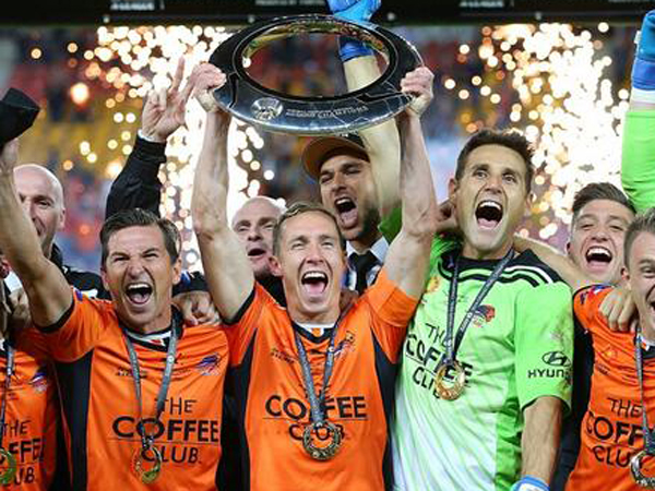 Brisbane Roar's third A-League Championship in four years..