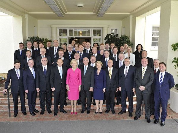 With a lack of women in Australian politics, perhaps it is..