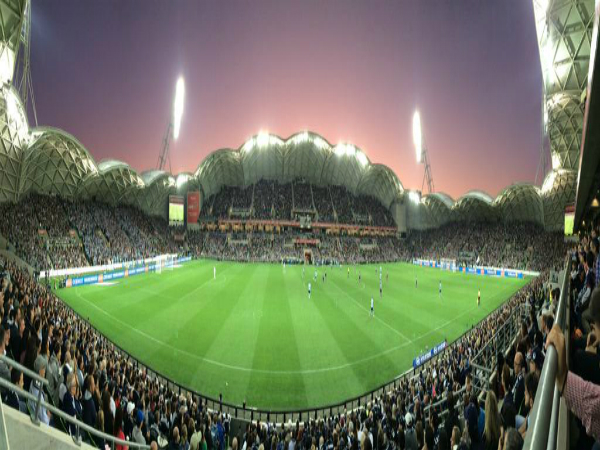 The use of AAMI Park for the A-League grand final received..