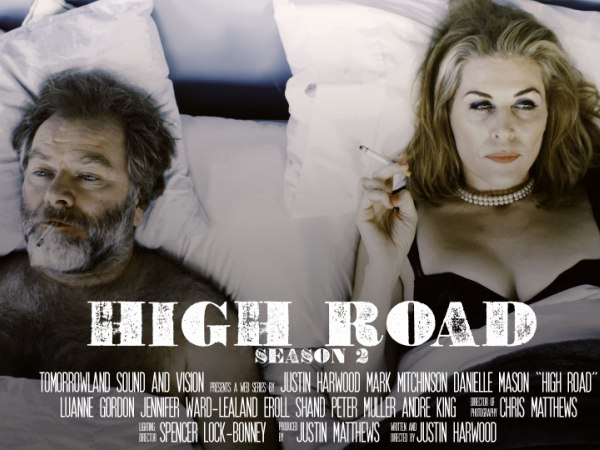 Justin Harwood is the creator of the web series, High Road,..