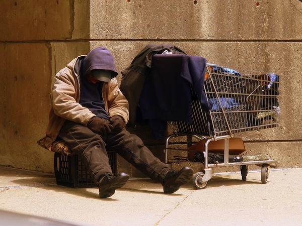 With homelessness in Melbourne on the rise, some are..