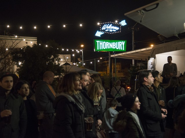 Tonight is the opening of Melbourne's first food truck venue,..