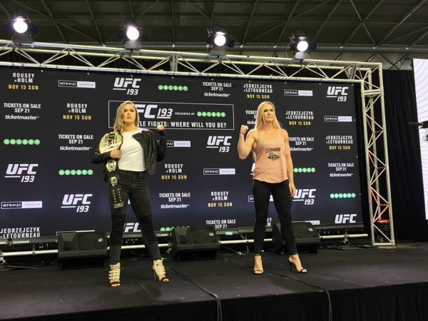 Ronda Rousey headlines the upcoming UFC, but she says her..