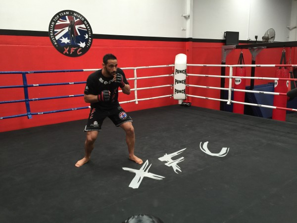 He's a professional in both Mixed Martial Arts and..