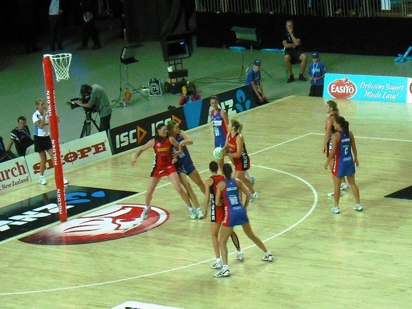 Netball's battle for attention
