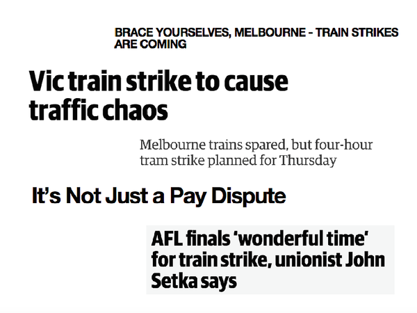 Ahead of tomorrow's tram strike, Ethan Miller analyses how..