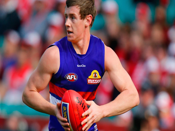 Sam Darley started his AFL career at just 17-years-of-age...