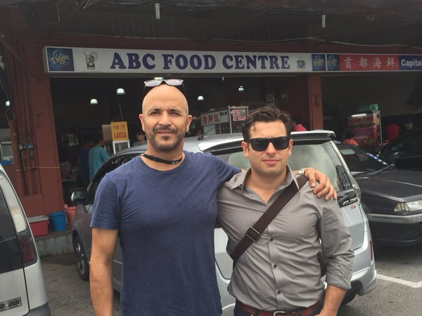 ABC cameraman Louie Eroglu on his arrest in Malaysia.