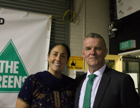 The Greens have launched their campaign for Jagajaga.