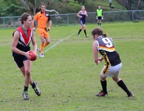 The AFL is taking leaps forward in women's football.