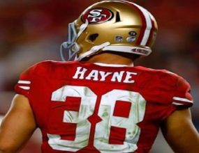 Jarryd Hayne hangs up the cleats in pursuit of Olympic Gold,..