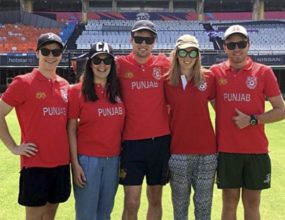 Several La Trobe University students have returned from an..