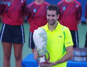 Ryan, Joel, Josh and Val discuss Marin Cilic's huge..