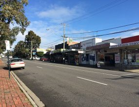 Local businesses in Rosanna Shopping Village are worried they..