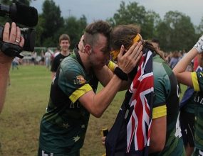 Australia has a new world champion. The Australian Dropbears..