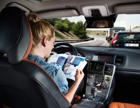 Autonomous vehicle technology represents convenience and..