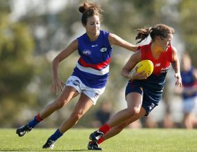 The Western Bulldogs and Melbourne Football Club will contest..