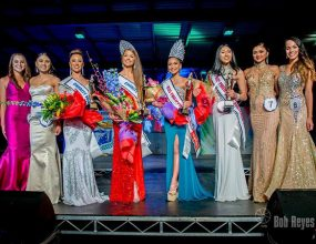 Eight young Filipino-Australian women competed for the 2016..