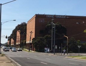 The old Amcor paper factory in Alphington is being..