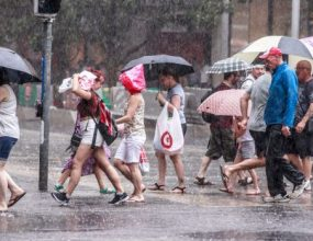 Victoria's turbulent weather not yet over