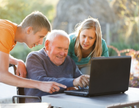 Online forums relieves loneliness in seniors