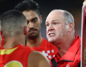 Rodney Eade has stood down as Gold Coast Suns coach, after he..