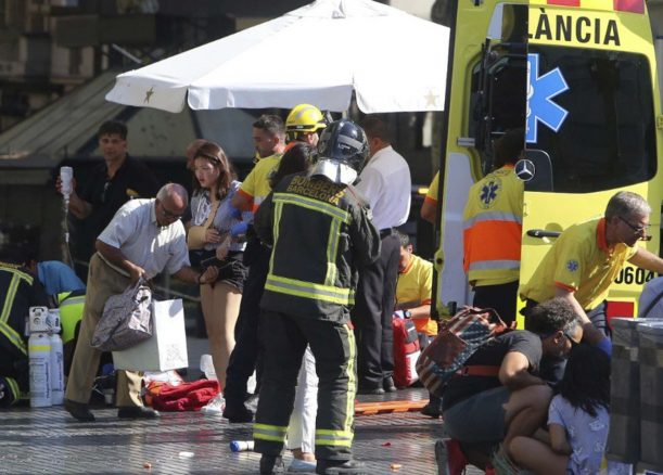 Three Australians injured in Barcelona attack