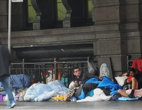 Laws pose a danger to homeless, experts say.