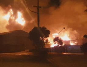 Explosions force Drysdale residents to evacuate
