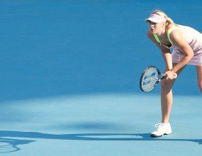 Sharapova returns for fourth round