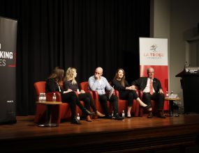 A panel discussed challenges for Millennials.